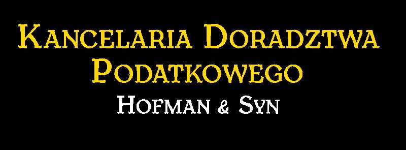 Kancelaria Doradcy Podatkowego Krzysztof Hofman